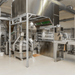 Baking industry:  Air handling units for food production line
